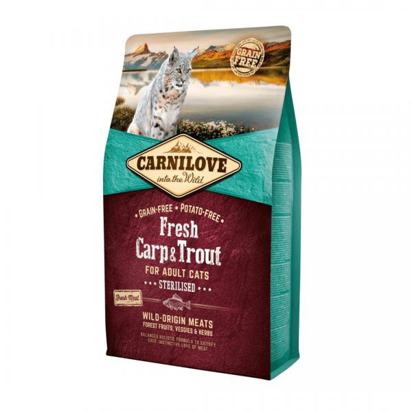 animalerie Carnilove Fresh Carpe Truite 2 Kg
