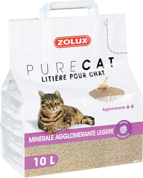 animalerie Zolux litiere agglo legere 10L 00032278