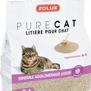 animalerie Zolux litiere agglo legere 5L 00032271