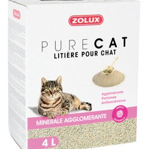 animalerie Zolux purecat agglo parf 4L 00032538