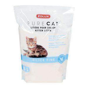 animalerie Zolux purecat sicile chaton 5L 00032260 2