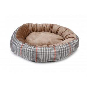 animalerie Distridog corbeille tweed ronde 705261