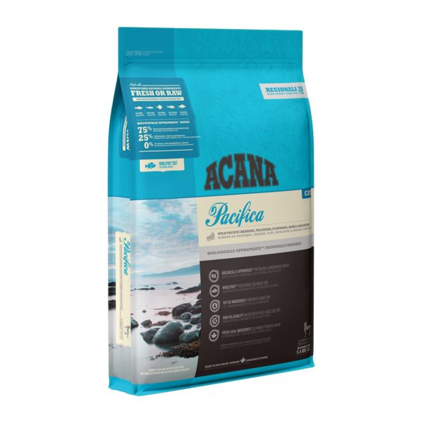 animalerie NS ACANA Regionals Pacifica Cat Front Right 5.4kg