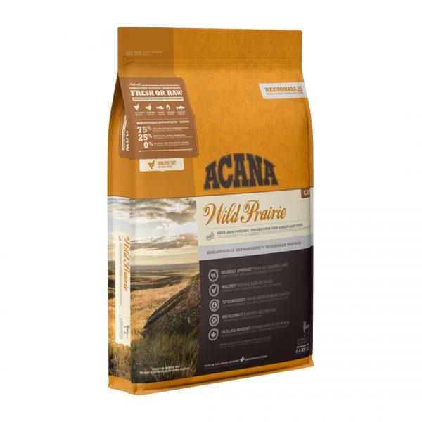 animalerie NS ACANA Regionals Wild Prairie Cat Front Right 5.4kg