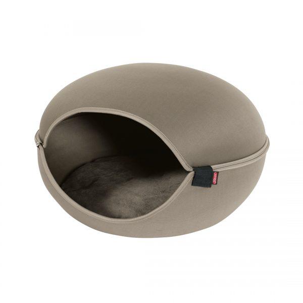 animalerie Zolux dome louna taupe 00048733