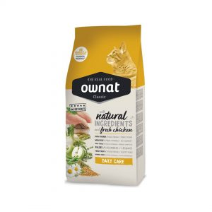 animalerie ownat classic chat daily care 4kg