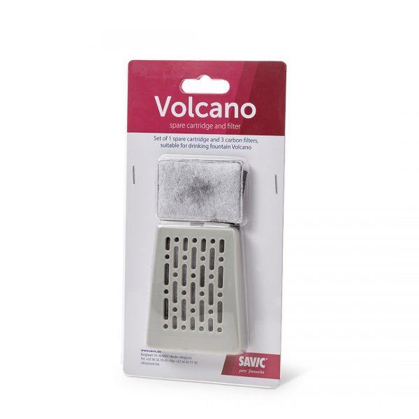 animalerie Volcano filter pack