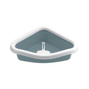 animalerie Zolux bac litiere corner bleu 00054583