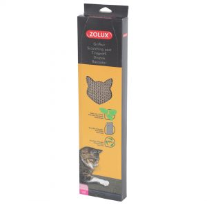animalerie Zolux griffoir carton catnip 00060520