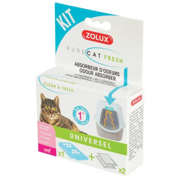 animalerie Zolux kit purecat fresh 00059949