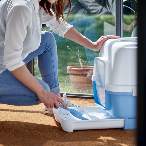animalerie Zolux maison toilette clever bleu 00044652