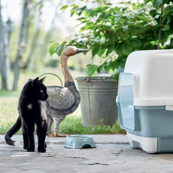 animalerie Zolux maison toilette clever bleu 00055523 1