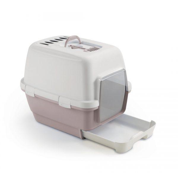 animalerie Zolux maison toilette clever rose 00055652 1