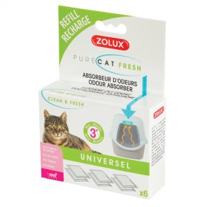 animalerie Zolux recharge purecat fresh 00059945